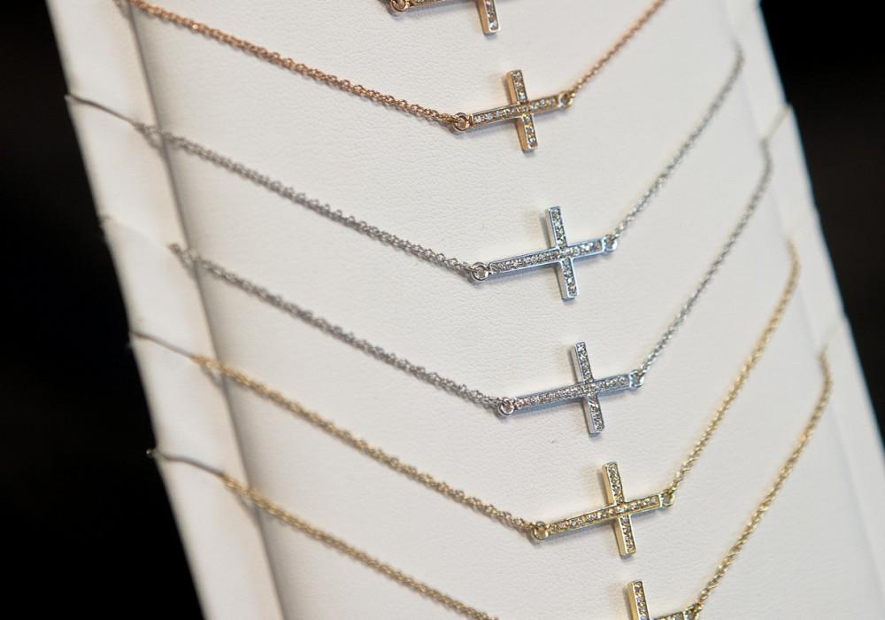 crosses for boys - baptism gift idea
