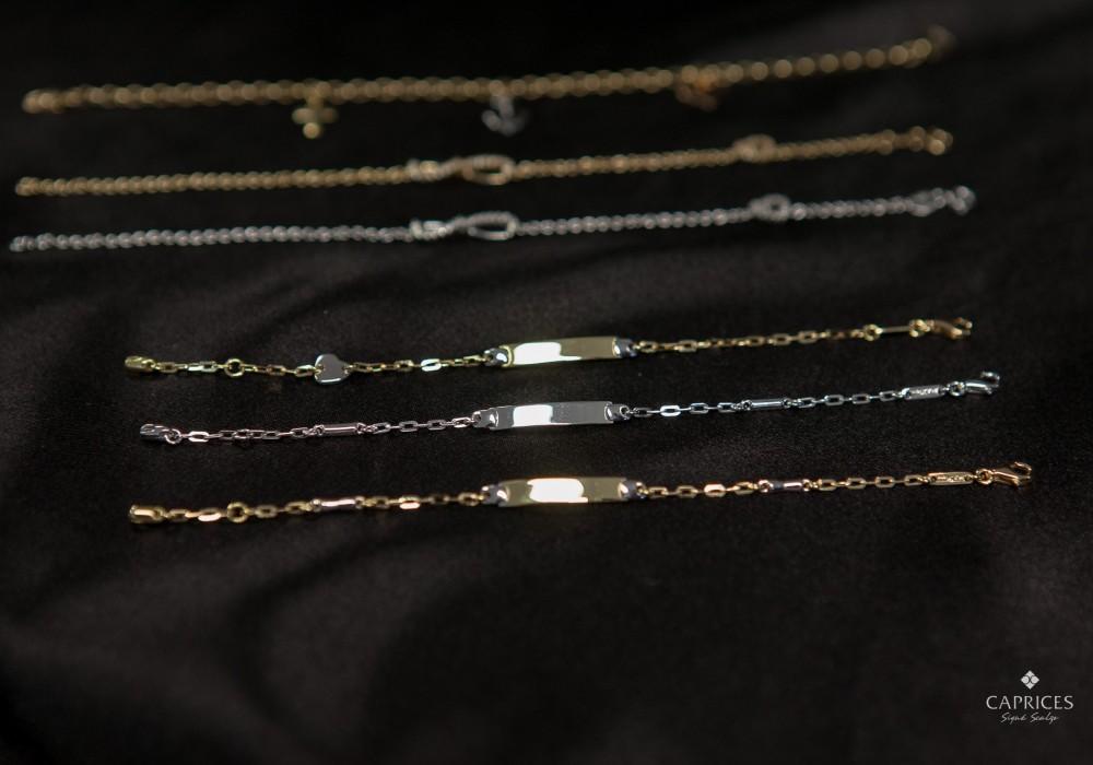 bracelets for gils - baptism gift ideas