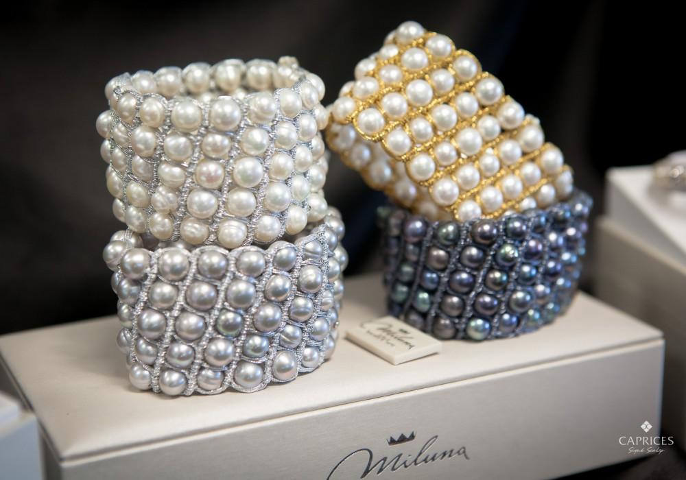 miluna pearl bracelets