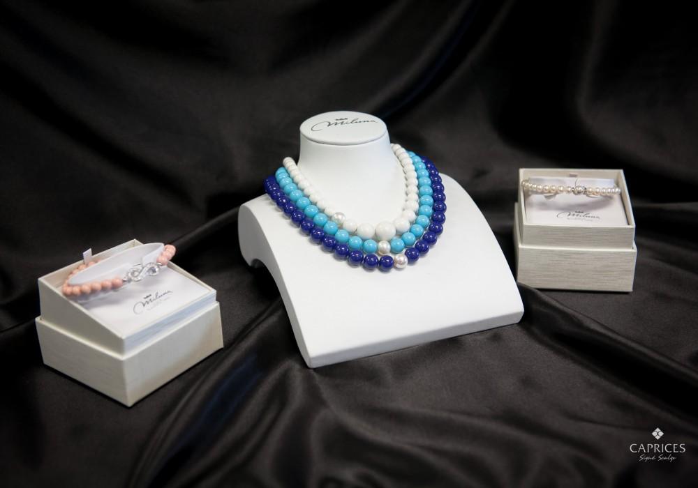Miluna jewelry - bracelets and pendants